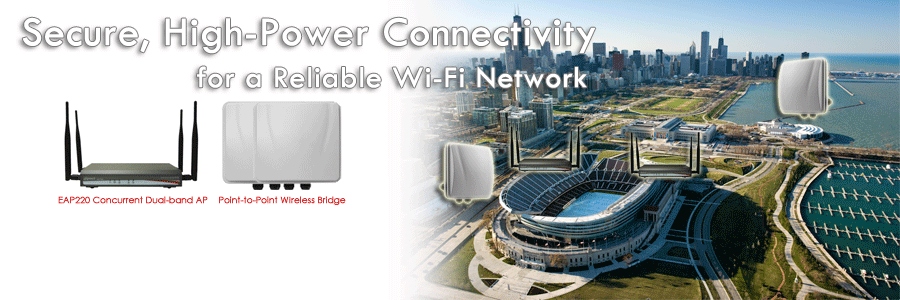 4ipnet Concurrent Dual Band Access Point