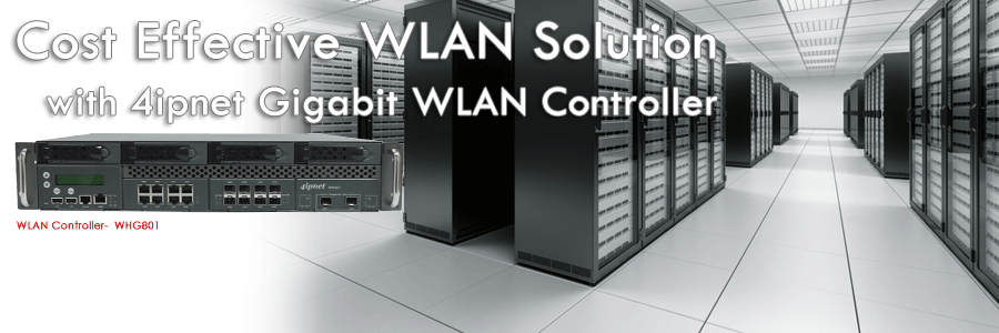 4IPNET WLAN Controller WHG801