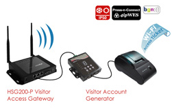 Visitor Access / Guest Access Solution
